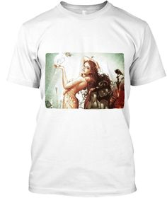 Temptations White T-Shirt Front