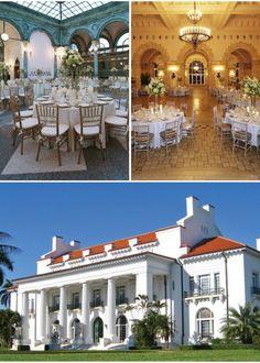 Top 5 Museum Wedding Venues in Florida - Flagler Museum - Wedding Venues in Palm Beach Florida - South Florida Wedding Venues - The Celebration Society