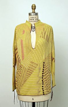 * French Sweater cashmere, angora 1928 Louiseboulanger (1878–1950)