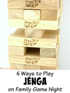 5 Ways to Play Jenga on Family Game Night