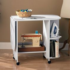 Wildon Home ® Bangalore Sewing Table in White
