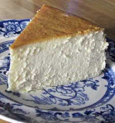 To me, this is the single best cheesecake I have ever had. It is creamy smooth, lightly sweet, with a touch of lemon.