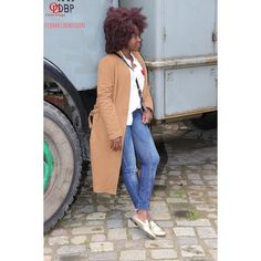 ''Hey come on get your back off the wall'' & check out my new blog. . . . . . . . . Camel coat ....DIY Shirt...DIY  #oriwodesign #hamburg #altona #curlyhair #africanblogger #blogger_de  #bighairdontcare  #teamnatural #fall #outfitpost #outfitinspiration #casual #camelcoat #fallfashion #slipons #casualstyle  #curls  #skinnyjeans #minimalist #minimalism #dresscasual #fashionblogger_de #denim #denimoutfit #casualoutfit #stylegram #goldenshoes #whiteshirt #bighair #whitebuttondown