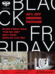 Our Wedding, Wedding Venues, Black Friday Offer, Fathers Love, December, Packaging, Pdf, Events, Weddings