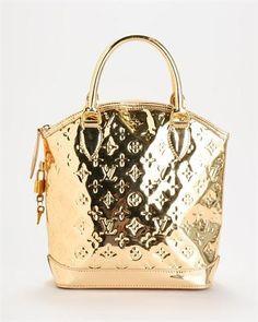Louis Vuitton Gold Vernis Miroir Lockit Handbag e84f180f7619a