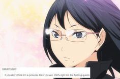 Haikyuu!! Text Posts - Actual Queen Kiyoko