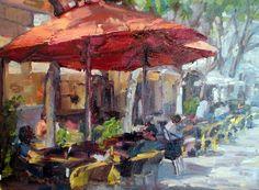 Paris+Cafe+Umbrellas+in+Red.jpg (1600×1179)