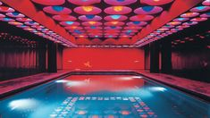 Swimming pool in Germany (1969) - Verner Panton