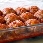 """These are the best vegetarian """"meatballs"""" I've ever had!  They are not low calorie but I only need two on my pasta.  I think they are too sweet with just the sweet and sour sauce so I put just a dot of the sauce on each ball. (I only make a fraction of the sweet and sour sauce) I then pour on my own pasta sauce or a jarred sauce and bake them.  Wonderful!"""