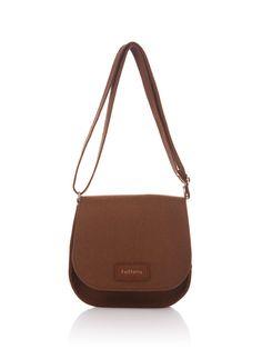 Brown Felt Bag Emma. Original beautiful and unique. от FELTTERRA