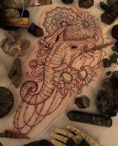 elephants tattoo design elephants tattoo design Canvases is part of tattoos - elephants tattoo design Canvases is part of Elephant Tattoo Designs The Body Is A Canvas Tattoo idea's Leni Winstel Leni tattoo Winstel Badass Sleeve Tattoos, Tribal Sleeve Tattoos, Tattoos Skull, Sleeve Tattoos For Women, Tattoo Sleeve Designs, Leg Tattoos, Body Art Tattoos, Women Sleeve, Tattoo Sleeves