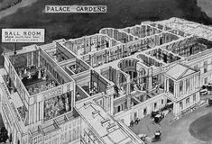 Print of First Court of the London Season at Buckingham Palace, 1922 Abandoned Houses, Abandoned Places, Abandoned Castles, Haunted Places, Abandoned Mansions, Buckingham Palace London, Buckingham House, Palace Garden, Royal Court