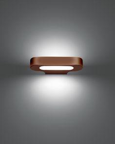 Elegant Artemide Talo Parete Fluo bronze bei lampenonline de unter lampenonline de lampen