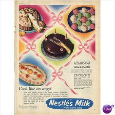 Cook like an Angel! Nestle's Milk Ad