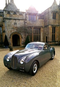 1953 La Sarthe Bentley R Type. Elegance and power.