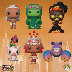 Heres are the new Moana Pop!s coming soon. I need to start collecting the Moana series Heres are the new Moana Pop!s coming soon. I need to start collecting the Moana series Funko Pop Dolls, Funko Toys, Teen Titans, Pop Vinyl Collection, Animatronic Fnaf, Funko Pop Anime, Pop Figurine, Funk Pop, Disney Pop