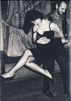 Paloma Picasso dancing at Le Palace, c. 1970s