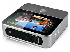 "ZTE Spro 2 (Wi-Fi Only) Android Projector with 5"" LCD Touch Display, Wi-Fi, Bluetooth, HDMI, USB and Micro SD Slot. Android 44 Smart projector with 5"" touch screen with Wi-Fi connectivity and Bluetooth. Lumens (brightness): 200 Lm charging / 100 lm on battery, manually adjustable, bulb life: 20,000 Hours resolution out (native): 720P 1280x720. Usb 30 Connectivity - transfer data through a USB cable. Wi-Fi connectivity: 80211 B/g/n(2x2), dual-band: 24 Ghz or 5 ghz , Bluetooth 40. Dim: 53 X…"