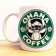 Ohana Coffee Mug    Lilo and Stitch Starbucks    Disney