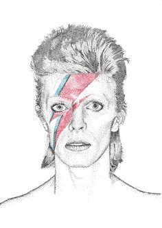David Bowie - Pontillism
