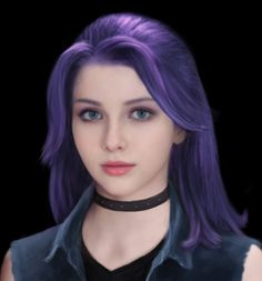 Stardew Valley Realistic Abigail (Purple Hair) by EarendelArt on DeviantArt Stardew Valley Fanart, Valley Girls, Fandom Games, Purple Hair, Lady, Pop Culture, Natural Hair Styles, Fandoms, Cosplay