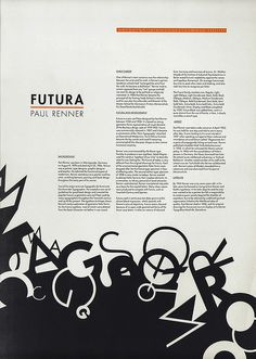 Futura is one of my favorite typefaces right now, and I live how this composition combines the geometric structure of the text with the chaos of the stacked letters near the bottom. Poster Fonts, Typography Poster Design, Type Posters, Typographic Poster, Design Poster, Typographic Design, Typography Inspiration, Graphic Design Inspiration, Web Design