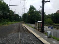 The Wynnefield Avenue station on Wynnefield Avenue near its intersection with Bryn Mawr Avenue in West Philadelphia. This station is one of only three stations on SEPTA's Cynwyd Regional Rail commuter train line (excluding its two station stops in downtown Philadelphia) and is the easternmost stop on the line prior to the downtown stops.