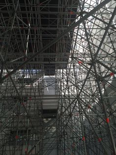 Brand bier XXL inside Scaffolding, Wire, In This Moment, Image, Staging, Cable