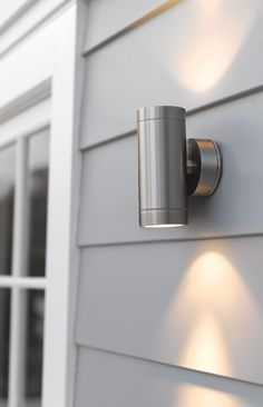 Lucci Marine Exterior Up Down Wall Bracket in Marine Grade Stainless Steel Beacon Lighting   Lucci Project 2 x 35W Up Down exterior wall  . Marine Grade Stainless Steel Outdoor Wall Lights. Home Design Ideas
