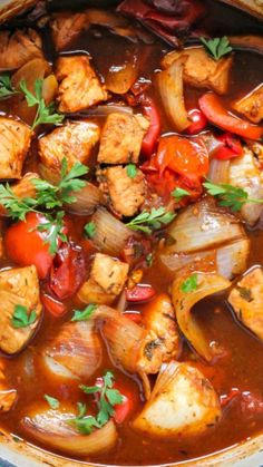 Caribbean Fish ~ One of the best tastier stews... Done in 25 minutes