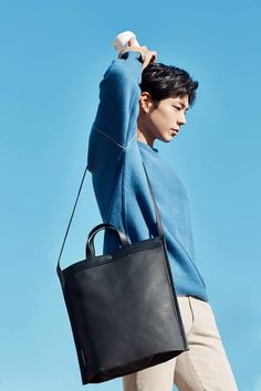 Park Bo Gum for Mandarina Duck Park Bogum, Empress Ki, Do Bong Soon, While You Were Sleeping, Cha Eun Woo, Moon Lovers, Bo Gum, Love At First Sight, Korean Actors