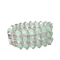 Jane Stone Fashion Exquisite Beauty Green Crystal Beaded Scaly Bracelet Modern Bridesmaid Nightclub Jewelry for Party(B0278-Green) Jane Stone http://www.amazon.com/dp/B00EY73OUI/ref=cm_sw_r_pi_dp_8rRIvb0QSAVWH