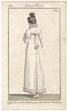 1813 Costume Parisien No 1349