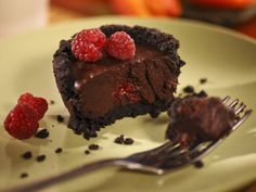 Truffle Tarts with Raspberries from FoodNetwork.com