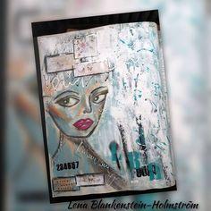 """Lena Blankenstein-Holmström sanoo Instagramissa: """"Daily Art journal page 💙 #instaart #finnishartists #finnishart #mixedmedia #art#artjournal #artist #lifestyleblogger #contemporaryart…"""" Art Journal Pages, Insta Art, Contemporary Art, Mixed Media, Artist, Artists, Mixed Media Art, Modern Art, Contemporary Artwork"""