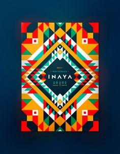 INAYA Festival identity on Behance
