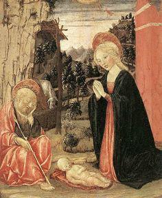 Francesco Di Giorgio Martini - Natività -  1465 -  Art Association Galleries, Atlanta