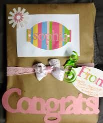 baby shower gift wrapping ideas - Google Search