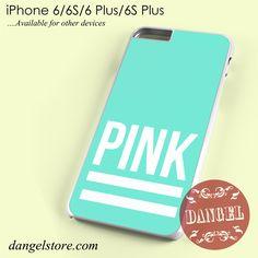 Pink Blue Victoria's Secret Phone case for iPhone 6/6s/6 Plus/6S plus