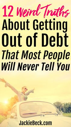 12 Weird Truths About Getting Out of Debt That Most People Will Never Tell You – Finance tips, saving money, budgeting planner Ways To Save Money, Money Tips, Money Saving Tips, Money Budget, Money Hacks, Mo Money, Budgeting Finances, Budgeting Tips, Budgeting Worksheets