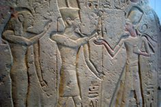 https://flic.kr/p/4H8GXZ   NYC: Brooklyn Museum - Stela of Ramesses II   Stela of Ramesses II 19th Dynasty XIX, reign of Ramesses II (circa 1279-1213 B.C.) Excavated by the Egypt Exploration Society in the forecourt of the temple at Amarah West in Nubia in 1939 Sandstone 39.420, Charles Edwin Wilbour Fund This stela commemorates King Ramesses II's presentation of statues to a temple of Amun-Re in Nubia. The arrangement of scenes and text symbolizes the ancient Egyptians' conception of…
