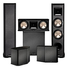 Six speakers BIC Acoustech audio Two PL89 Towers: Design: Video-shielded 2-way horn tower with dual 8-inch woofers Drivers: Two 8-inch woofers; one 6.5-inch mid/high horn Frequency Response: 25Hz-23kH