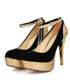 Ankle Strap High Heel Fashion Shoes