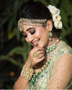 Image may contain: one or more people and closeup Bridal Makeup Looks, Bridal Looks, Wedding Makeup, Pakistani Bridal Makeup, Bridal Lehenga, Indian Wedding Bride, Bride Groom Photos, Wedding Venue Inspiration, Bride Photography