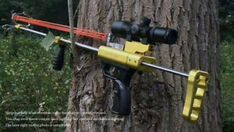 Spiderm Hunting Slingshot Rifle - Driving force by Rubber Bands - Newest Type Sling Bow, Driving Force, Video Installation, Hunting Gear, Crossbow, Guns And Ammo, Rubber Bands, Pistols, Rifles
