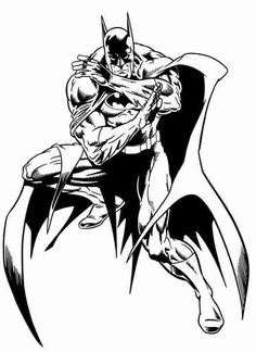 give a like for batman coloring pages