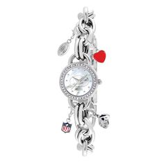 Game Time Women's NFL Charm Series Watch Green Bay Packers