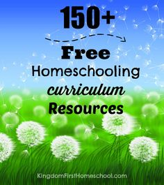 The Ultimate homeschool For free List.  Over 150 links for Tot school all the way to high school.  SERIOUSLY, this is an awesome list!