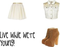 """""""Live while we're young"""" by sarah-yates-1 ❤ liked on Polyvore"""