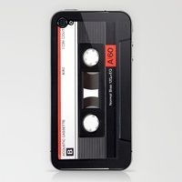 Cassette cover for iphone